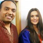 sandy&preity Zinta